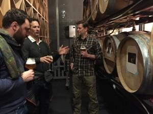 Cambridge Brewing Company Will Meyers, Dogfish Head Sam Calagione, Eataly Boston Nico Farinette