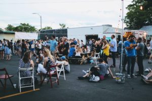 Aeronaut Allston pop-up beer garden