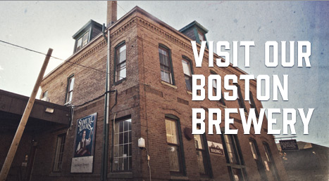 Sam Adams Finally Opens A Taproom at its Boston Brewery