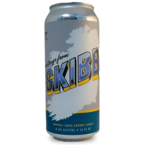 Greeting from SKIBB from Castle Island Brewing