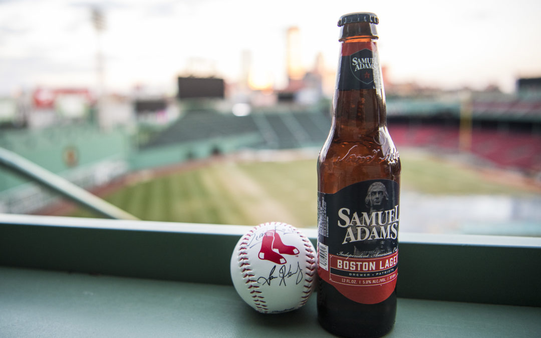 "Samuel Adams is Named ""The Official Beer of the Boston Red Sox"""