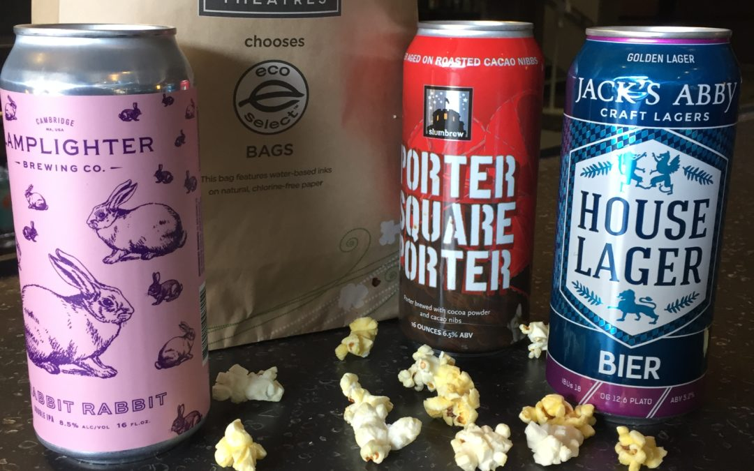 Kendall Square Cinema Pairs Independent Movies With Local Craft Beer
