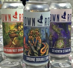 Down the Road Beer Co. in Everett, Massachusetts