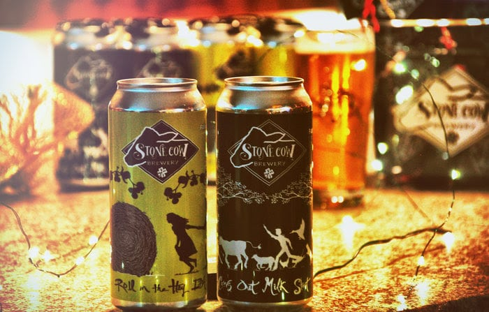 Stone Cow BreweryTo Release First Beers In Cans