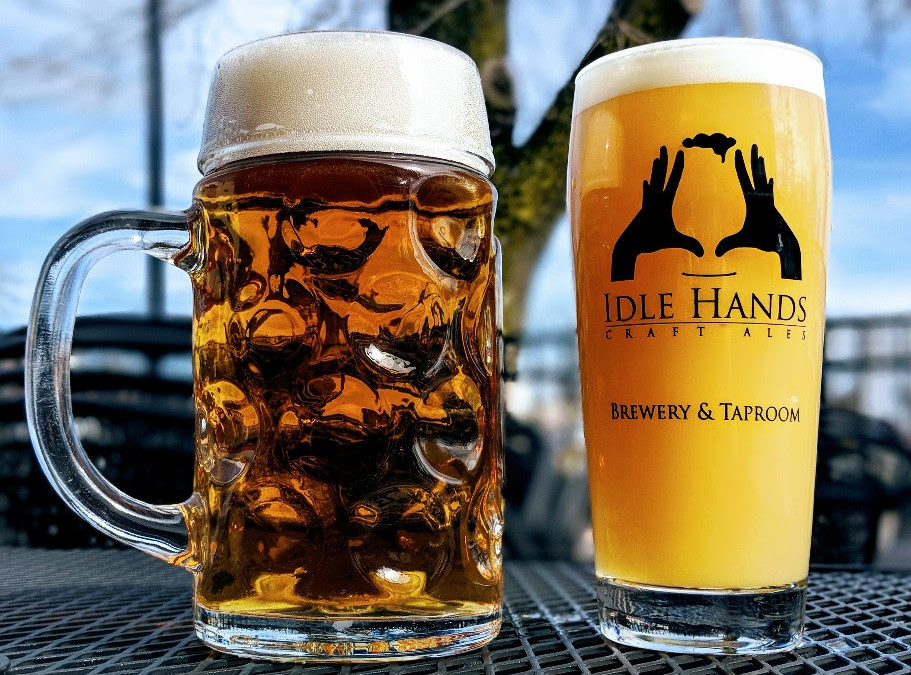 Idle Hands Releases Galaxy Four Seam and Emelyn Zwickelbier