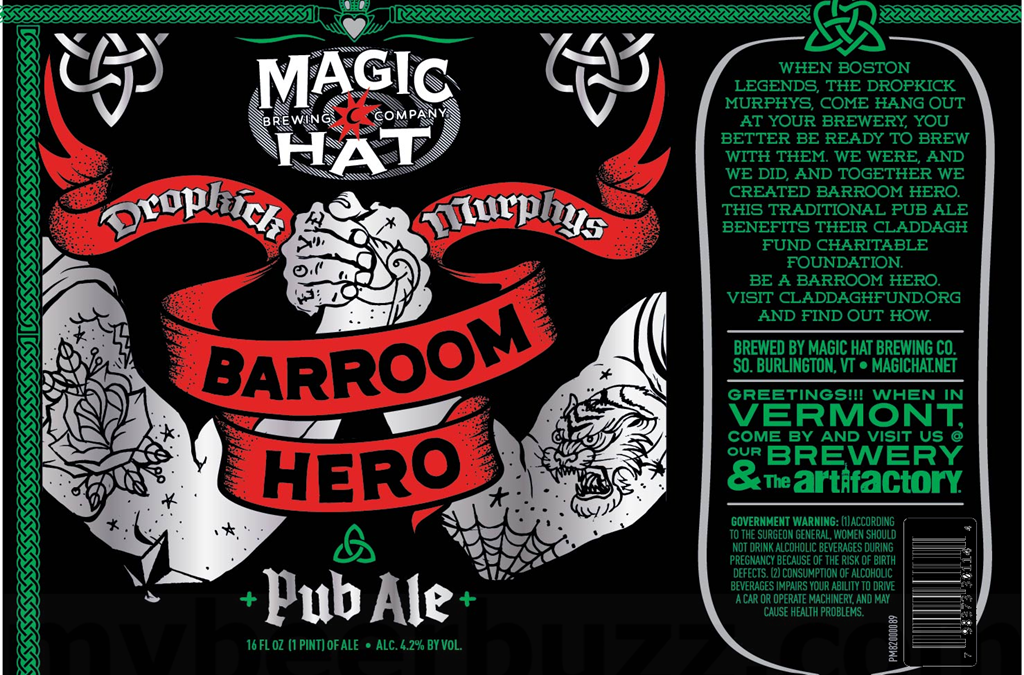 Magic Hat Teams With Dropkick Murphy's on Collab Brew