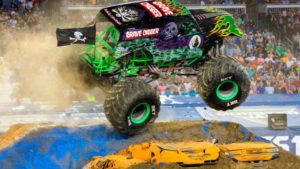 Monster Jam at DCU Center Worcester
