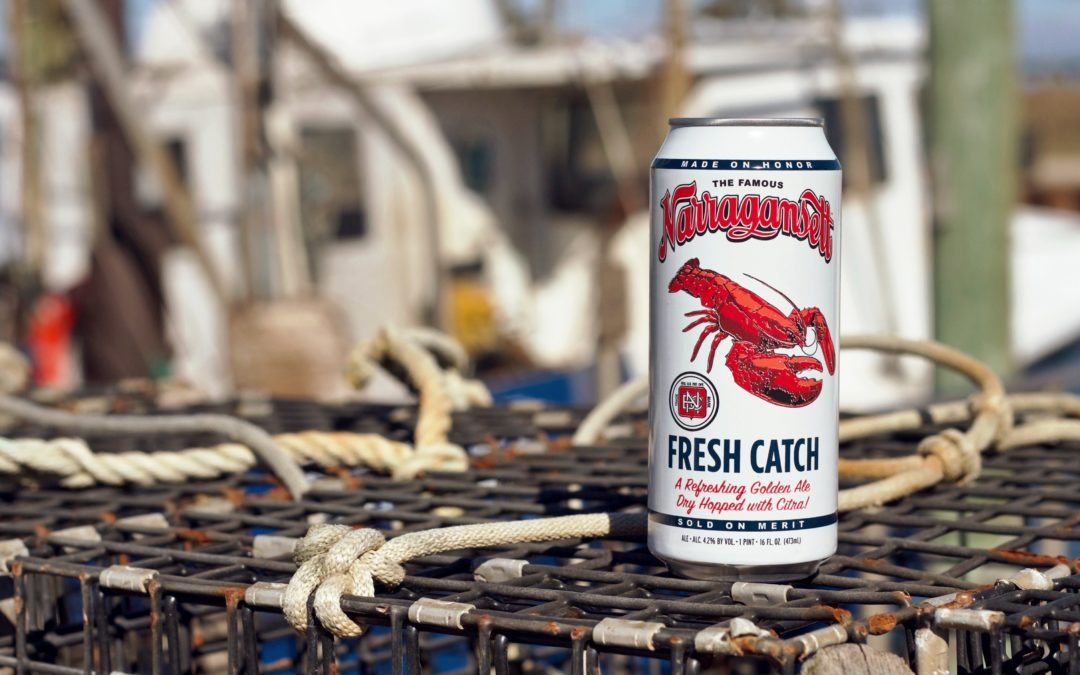 "Narragansett's New Brew ""Fresh Catch"" Celebrates The American Fishing Tradition"