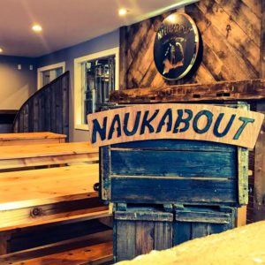 Naukabout brewery taproom