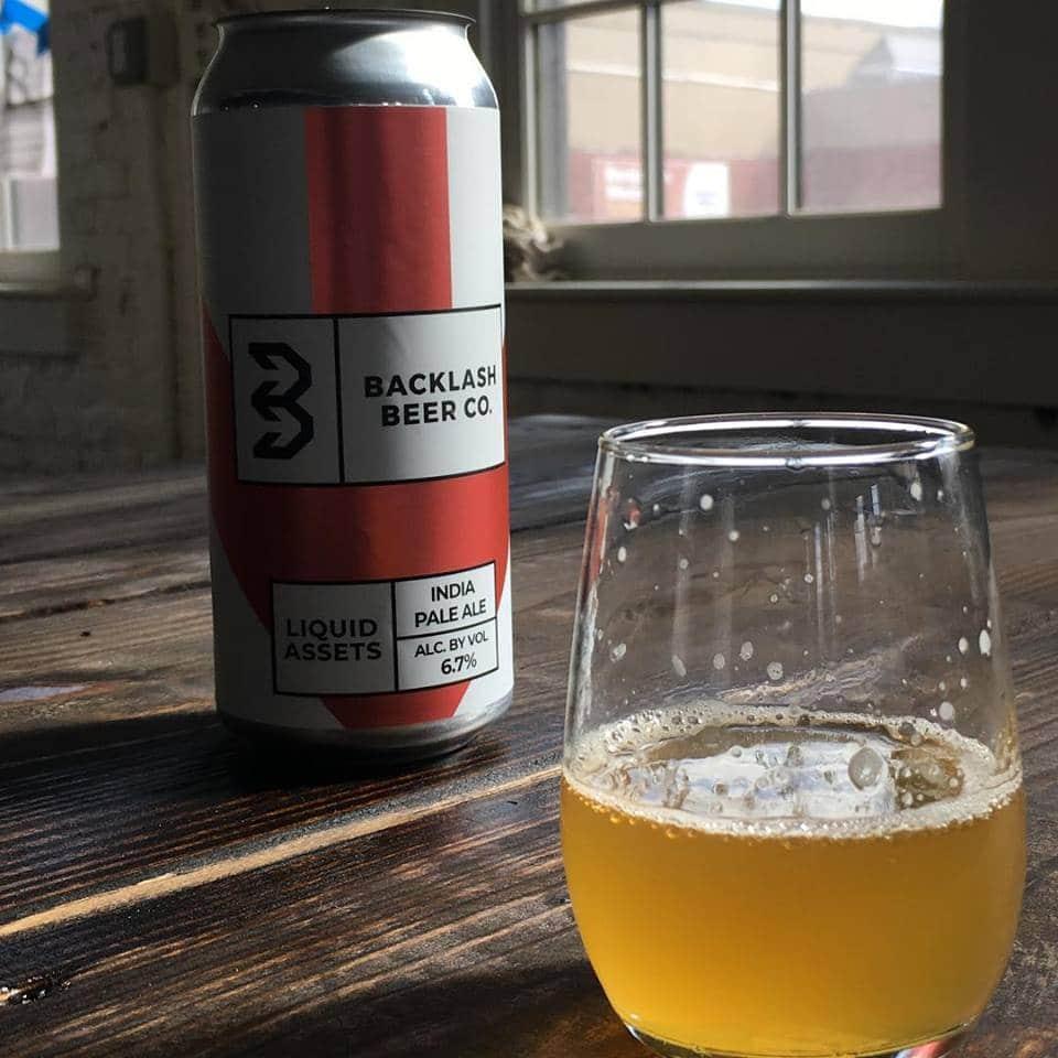 Backlash Beer Liquid Assetts