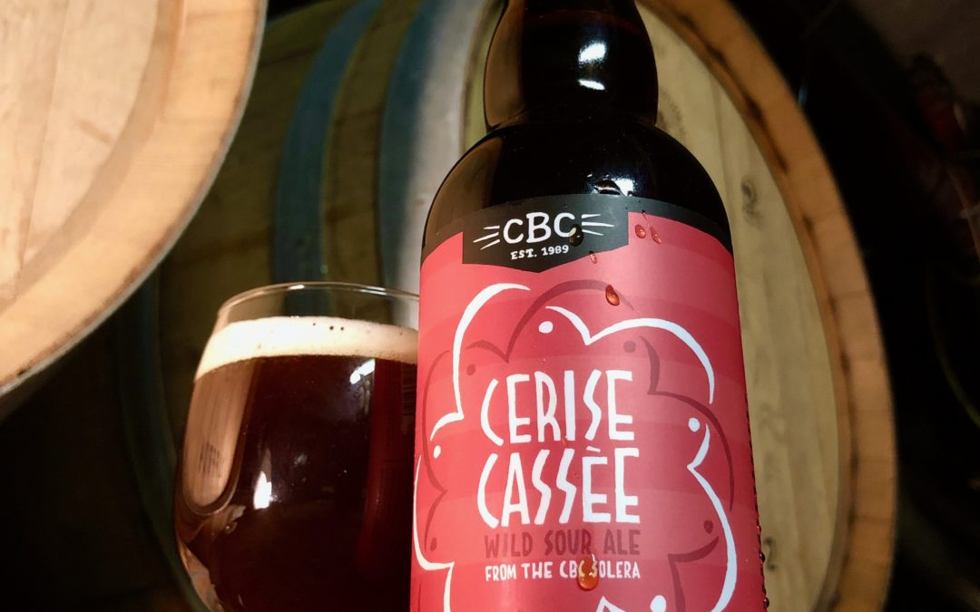 Cambridge Brewing Company Releases Cerise Cassée, The First-Ever True Solera-Style Barrel Fermented American Sour Ale