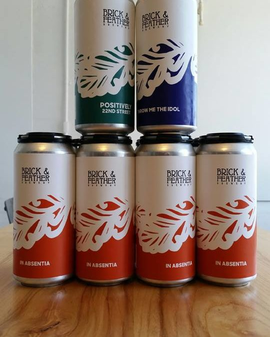 Brick & Feather's Highly Sought Beers Now Available In Cans