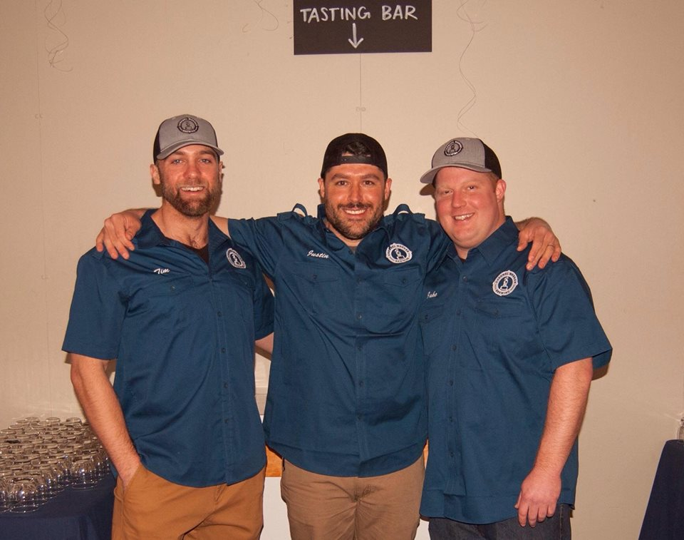 Channel Marker Brewing co-founders