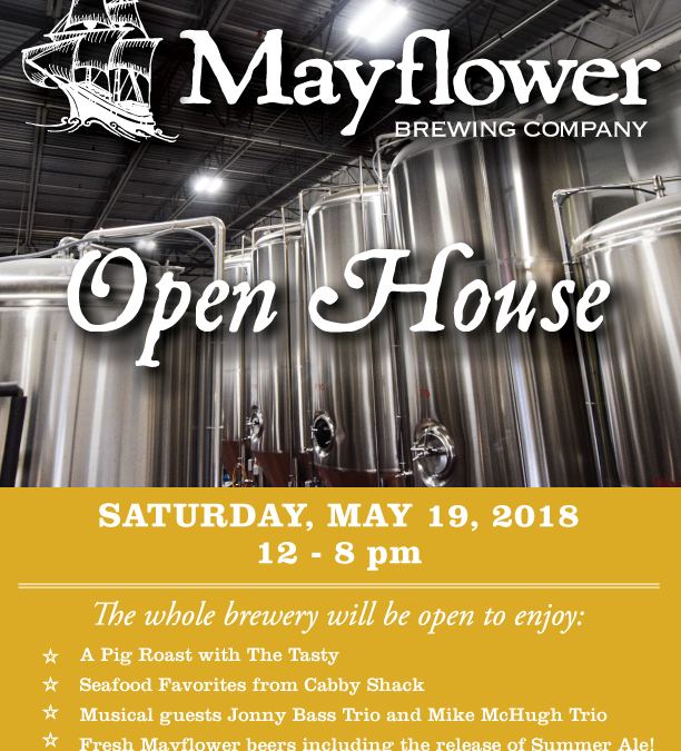 Join Mayflower Brewing For It's Annual Open House