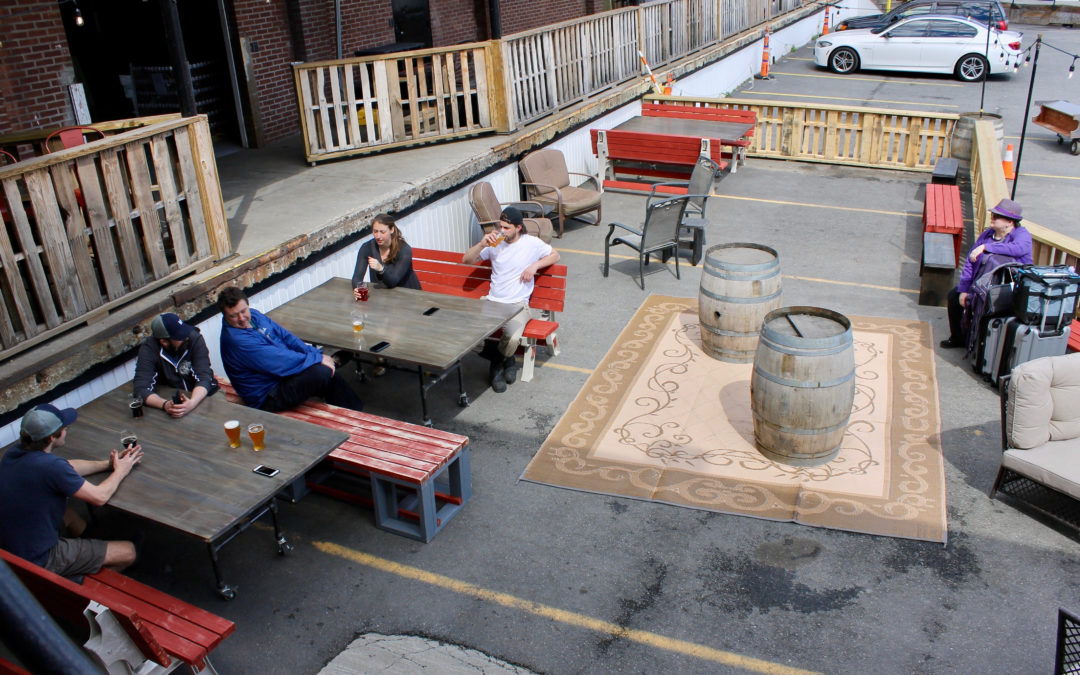 News from Down The Road Beer Co. Including a New Beer Garden