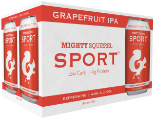Mighty Squirrel craft beer Charlestown, Massachusetts