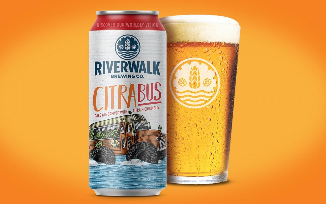 RiverWalk Brewing Co. Releases Popular CitraBus in Cans