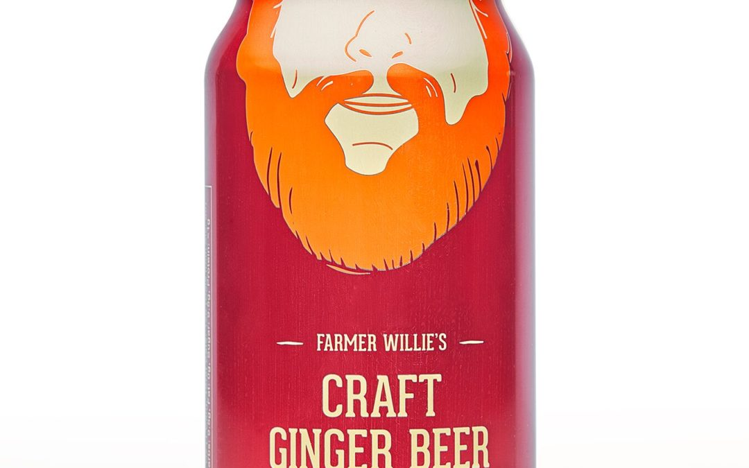FARMER WILLIE'S ADDS EVEN MORE GINGER TO CRAFT GINGER BEER
