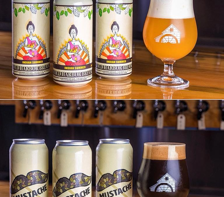 Cold Harbor Brewing Will Release its First Two Canned Beers