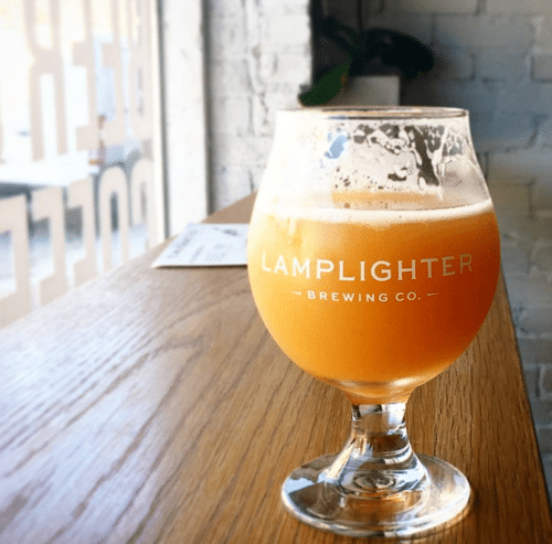 Lamplighter Brewing in Cambridge, Massachusetts