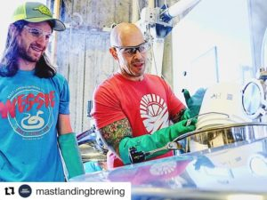 Vitamin Sea Brewing and Mast Landing collaboration beer, Same Sun IPA