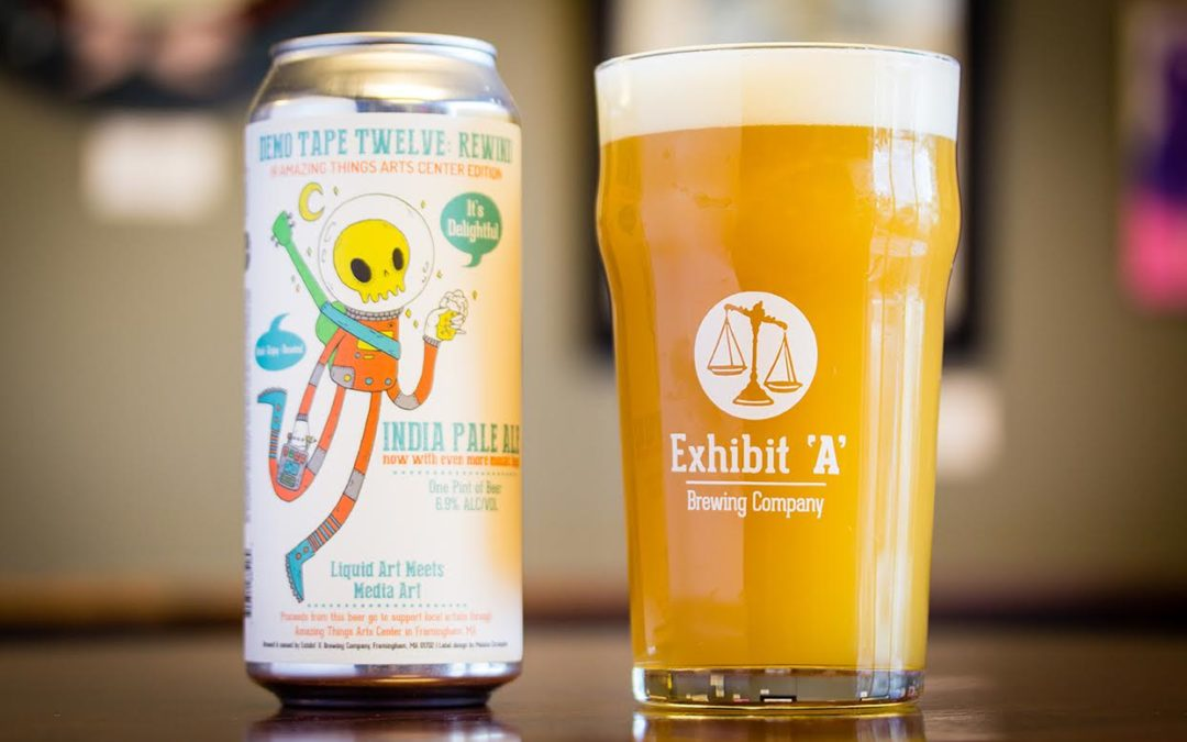 Exhibit 'A' Brewing Company releases beer in support of local artists