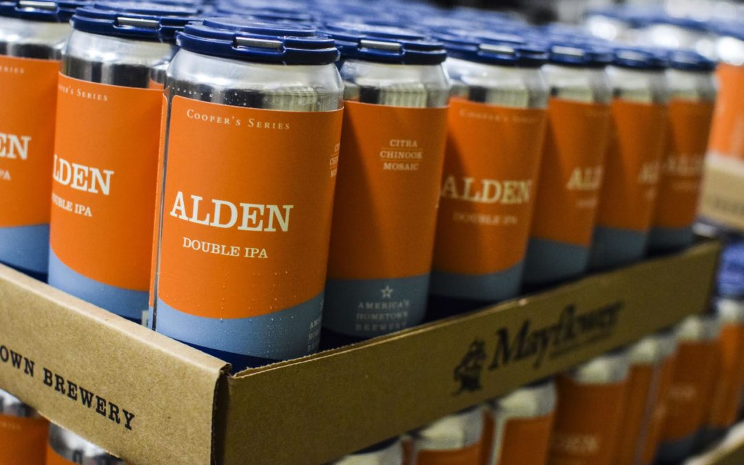 Mayflower Brewing Re-releases Alden, a Double IPA First Brewed in December 2014
