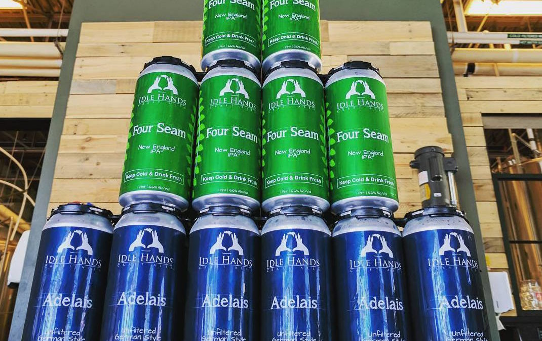 Idle Hands Craft Ales Announces Adelais and Four Seam Can Release