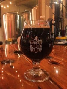 Abandoned building Brewery Nightshade Stout