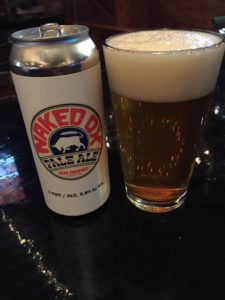 Naked Ox Beer Company Pale Ale