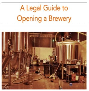 Attorney Rob McGovern's Legal Guide to Opening A Brewery
