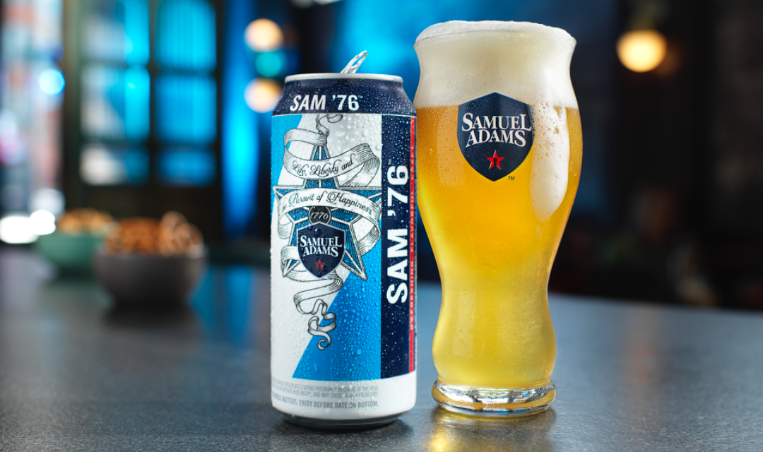 Samuel Adams Releases Revolutionary Beer Nationwide, Sam '76