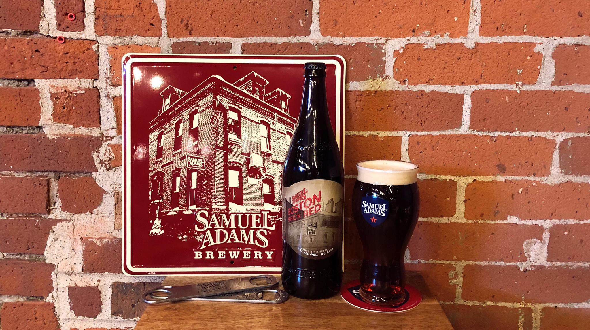 This Month Samuel Adams Is Celebrating Their February After Hours At The Brewery With A Bottle Release Of Drum Roll Boston Brick Red