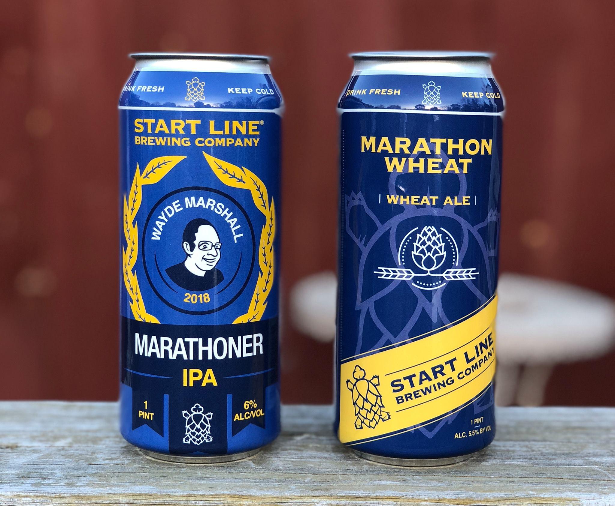 Start Line Brewing Releases Marathon Brews
