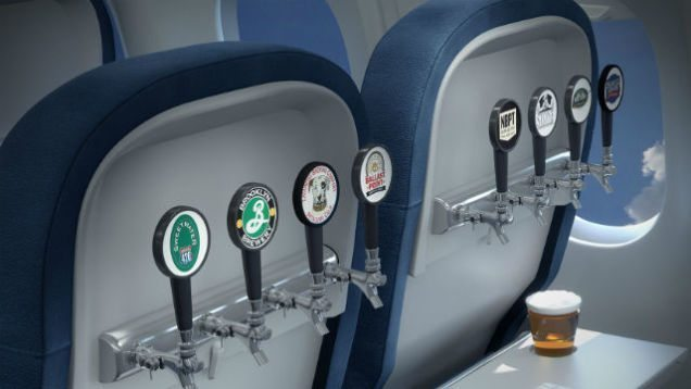 Airlines to Allow Self-Serve Beer Taps on All Domestic Flights