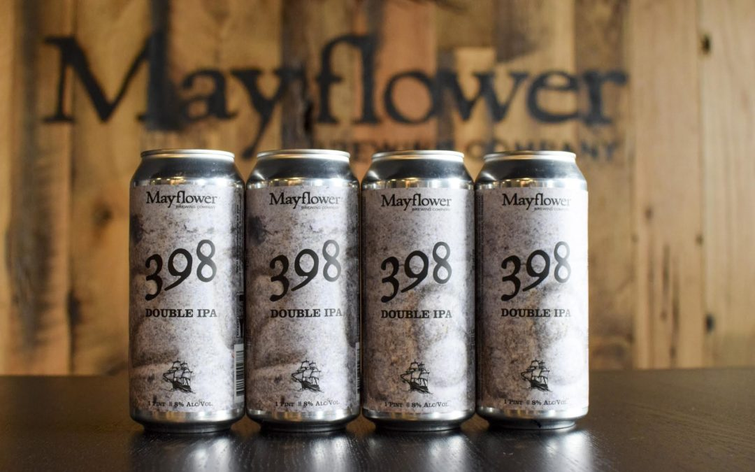 Mayflower Brewing Co. Releases Double IPA '398'