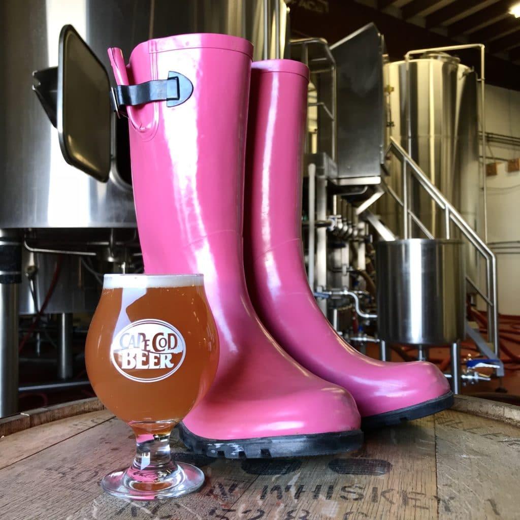 Cape Cod Beer Pink Boots Beer