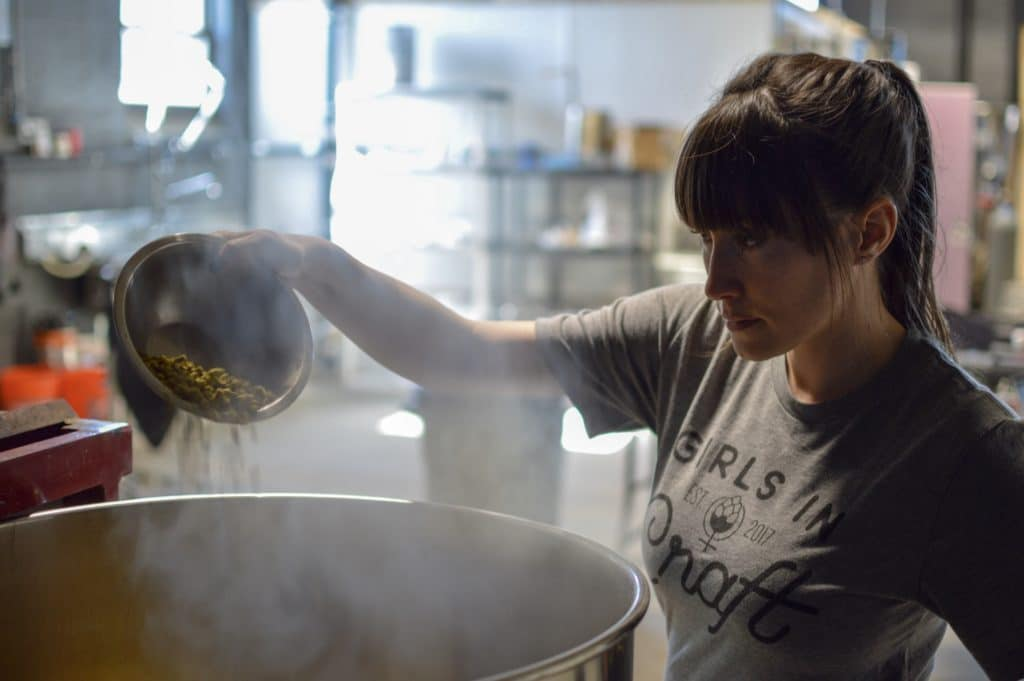 Liz DeSousa of Kismet Brewing