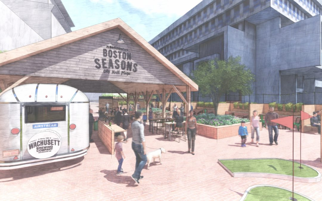 Wachusett Brewing To Open Seasonal Beer Garden on City Hall Plaza In May