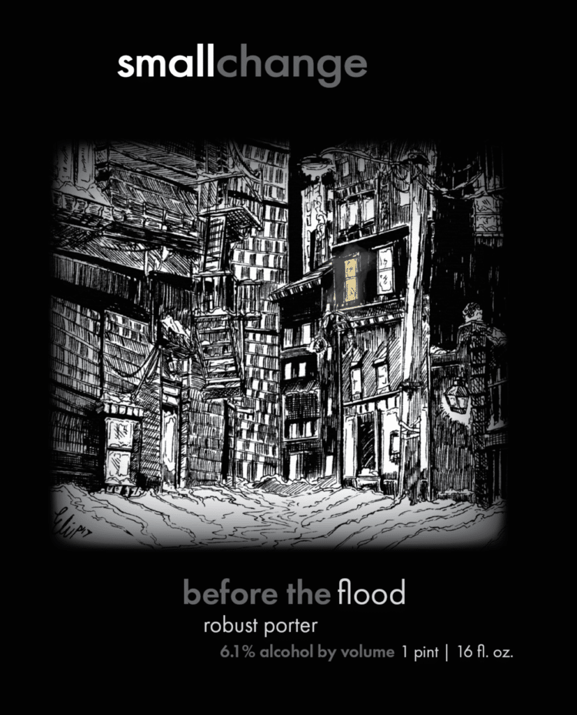 before the flood robust porter from Small Change Brewing
