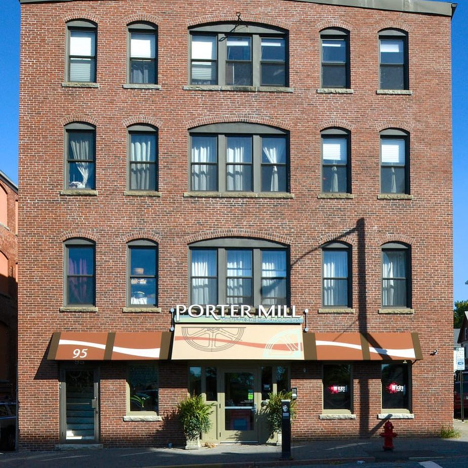 The Porter Mill Building in Beverly Massachusetts is home to Channel Marker Brewing