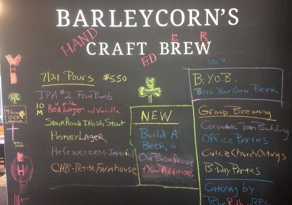 Natick Do-It-Yourself Brewery Barleycorn's Is Adding A Taproom