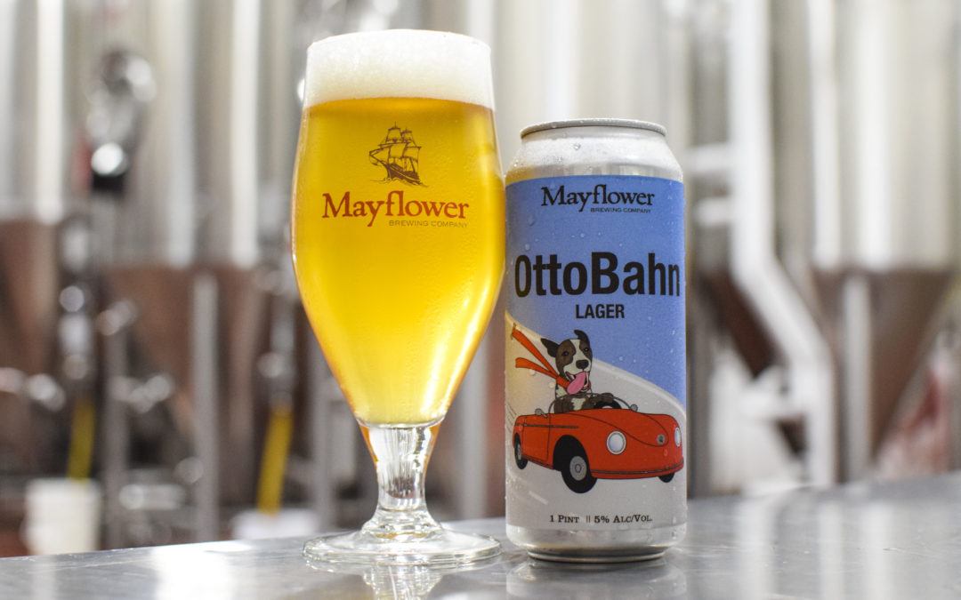 Mayflower Brewing Releases OttoBahn Lager