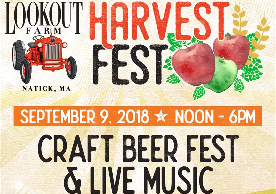 Natick's Lookout Farm to Host Craft Beer Harvest Fest