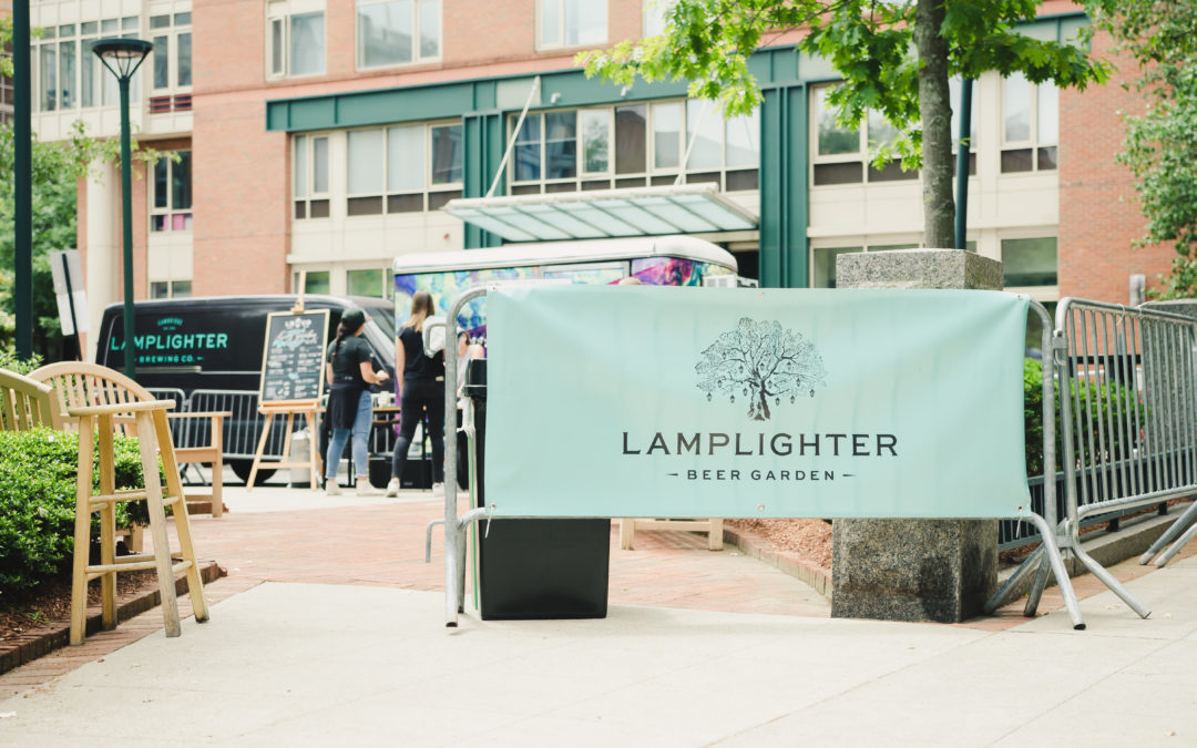 Lamplighter Beer Garden at Central Flea