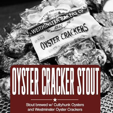 Wachusett Brewing Partners With Cuttyhunk Shellfish Farms and Westminster Bakers to Create 1st Ever Oyster Cracker Stout