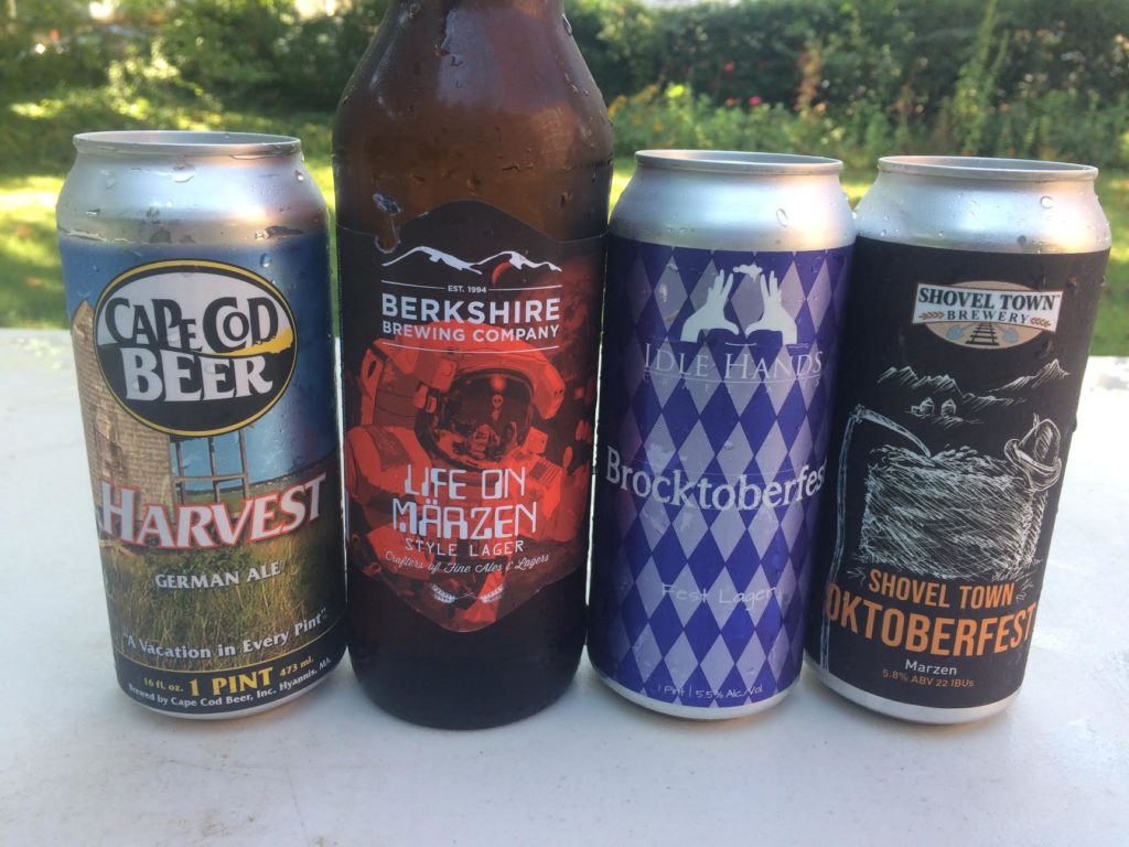Mass. Brew Bros blind tasting of 16 Massachusetts Oktoberfest style beers