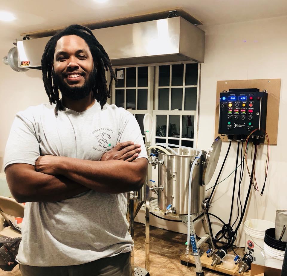 Essex County Brewing brewer Julian Miller