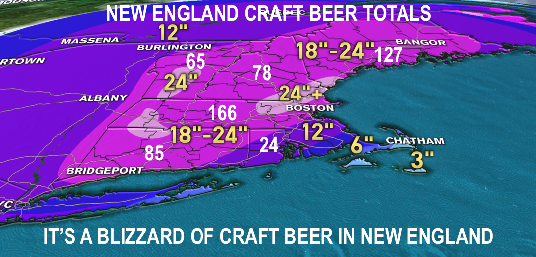 New England Is Now Home to More Than 500 Craft Breweries