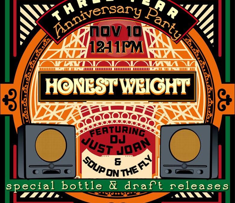 North Quabbin-based Honest Weight Artisan Beer to Host 3rd Anniversary Party